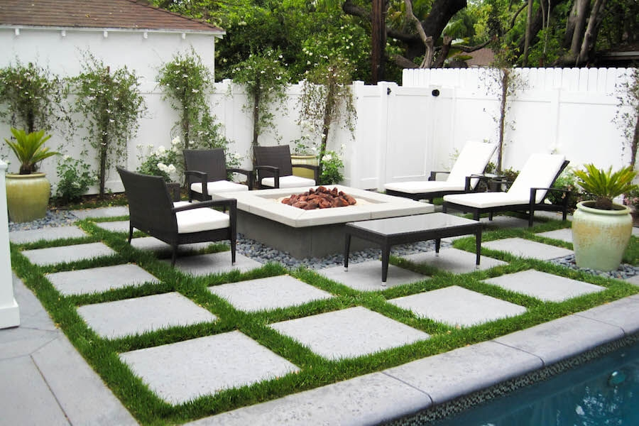 modern landscape design - pacific outdoor living intended for the most FNVVHPR