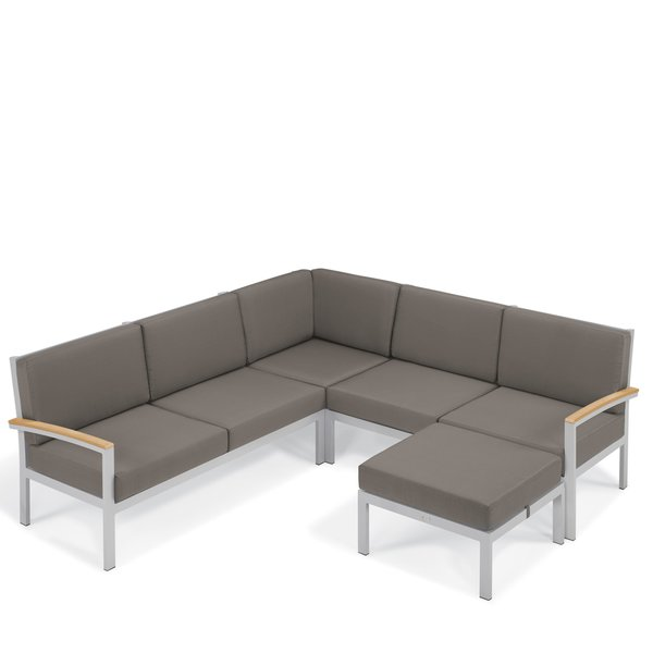 modern outdoor sectionals | allmodern MCLGEOW