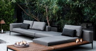 modern patio furniture houseology.comu0027s collection of outdoor furniture will transform your garden  into a GJNOUDJ