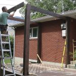 Modern pergola to beautify your Garden