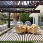 Modern pergola to beautify your Garden