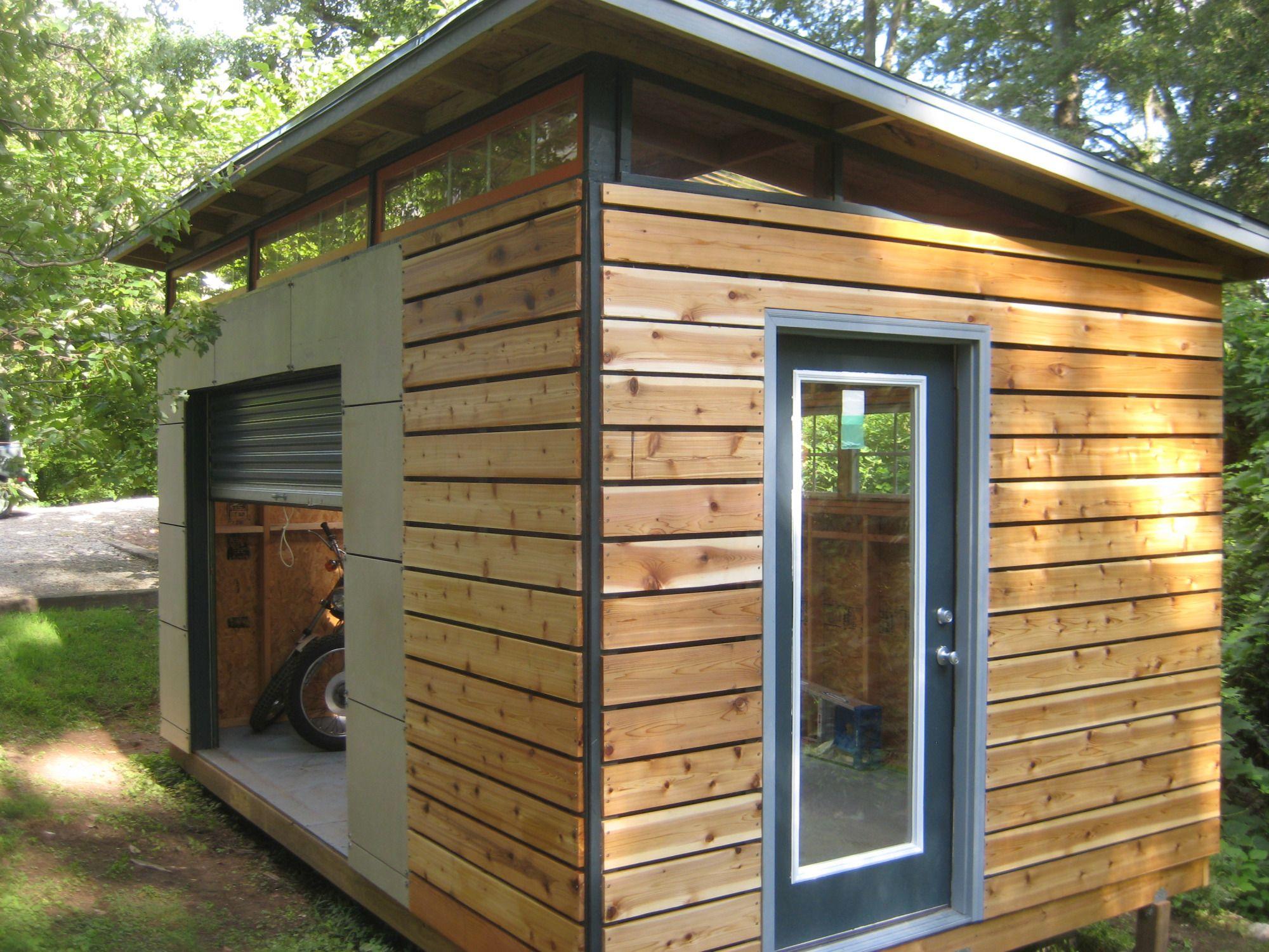 modern sheds diy modern shed project | diyatlantamodern AKYNLVR