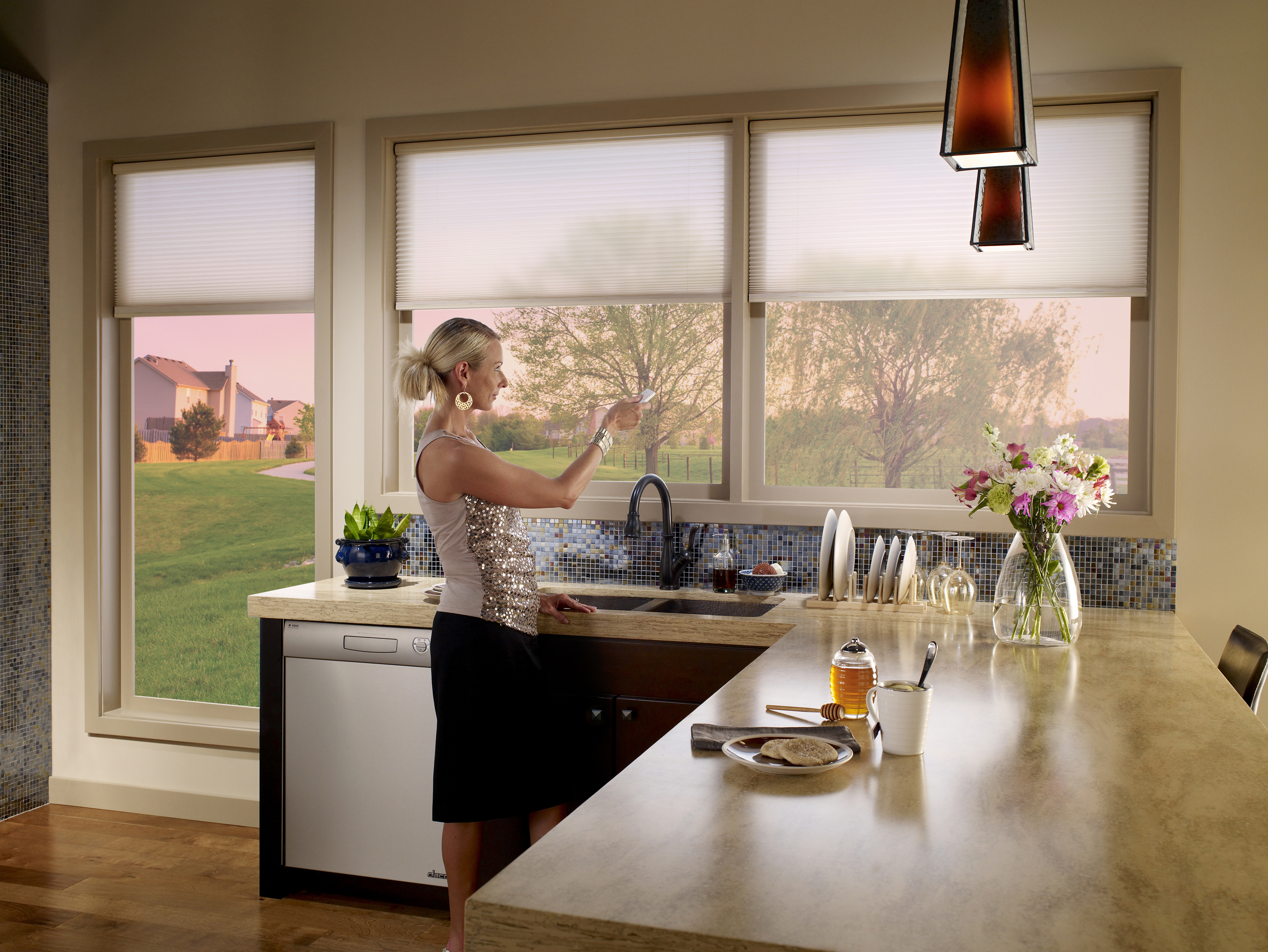 motorized window shades motorized window treatments houston - lutron motorized shades | the shade CRXXNET