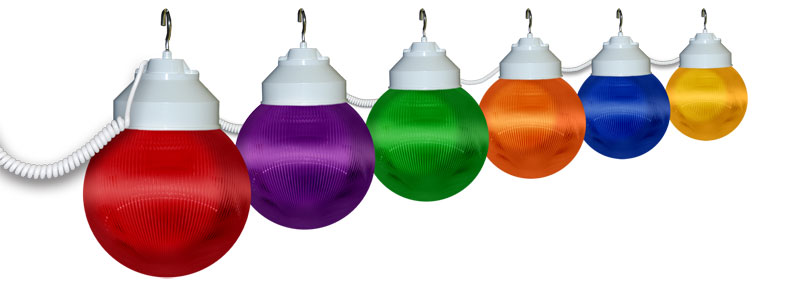 multi color awning lights - 6 lights IPGDENB