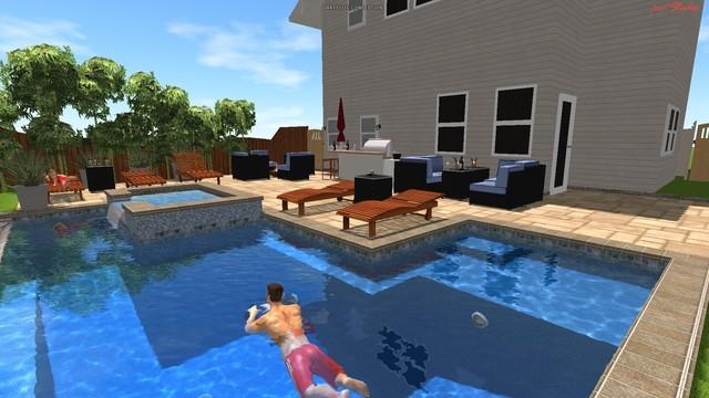 my pool design modern-pool JVIUJMK