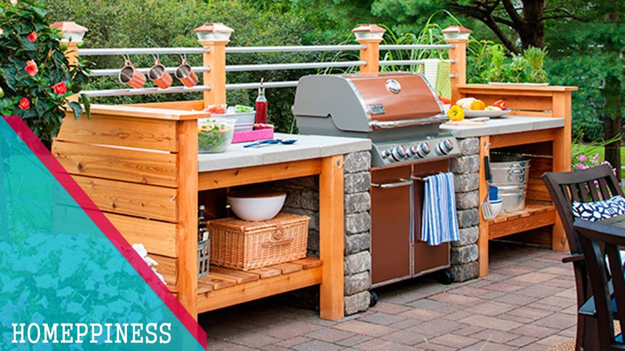 new design 2017 | 25+ simple outdoor kitchen ideas you should look YMAAQPT