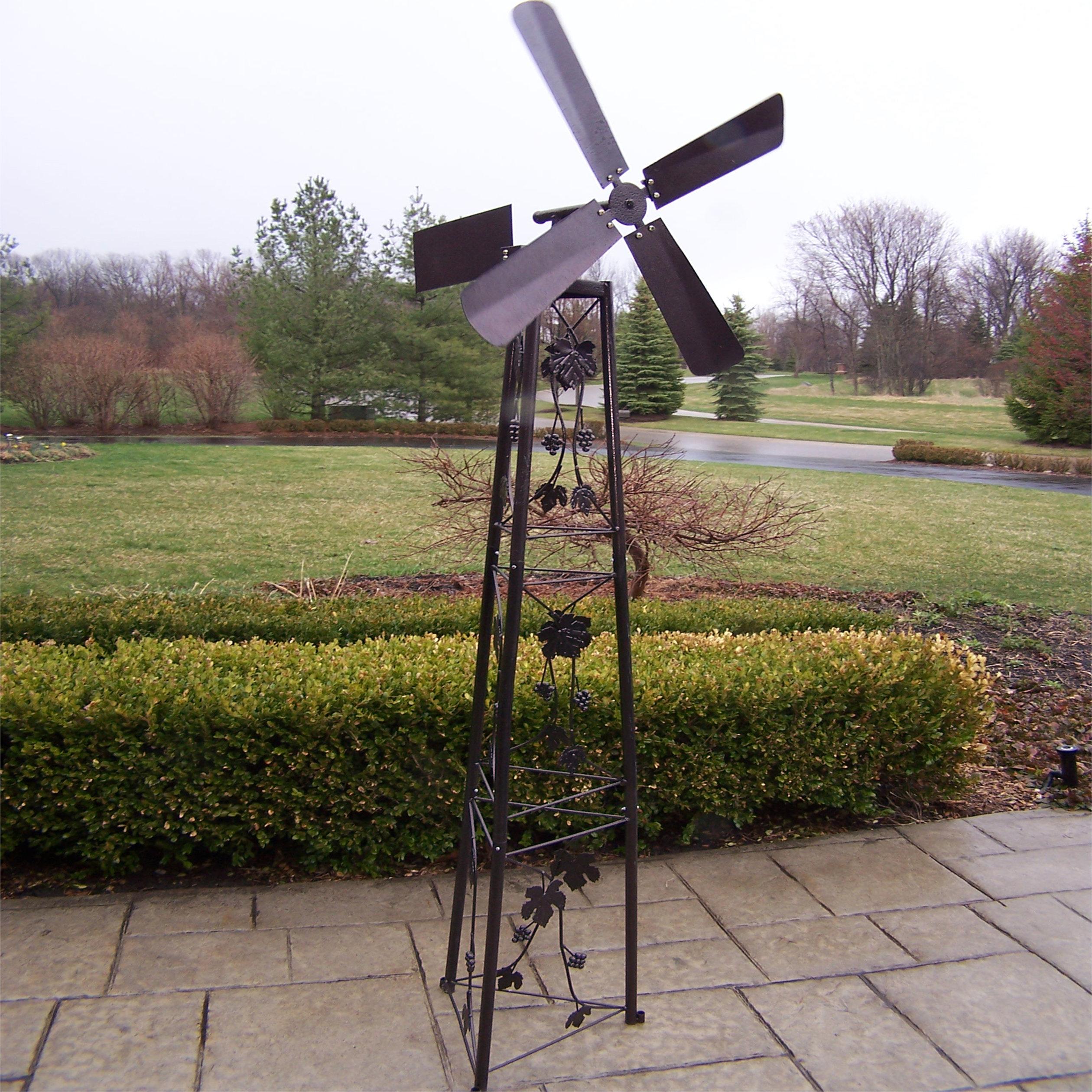 oakland living garden windmill u0026 reviews | wayfair YIHVHDV