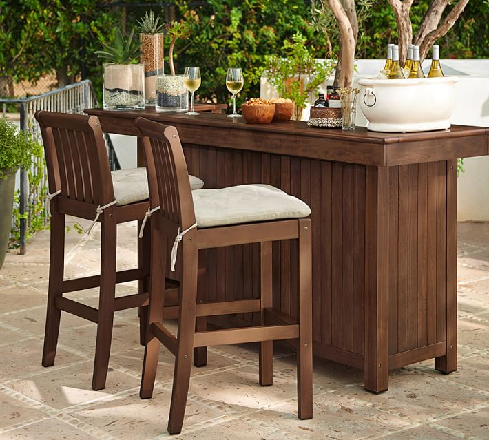 outdoor bar furniture chatham ultimate bar | pottery barn DAJPKRC