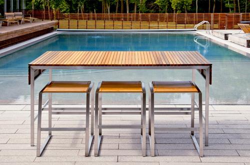 outdoor bar furniture edwin blue 1 outdoor bar furniture by edwin blue XWFMYOW