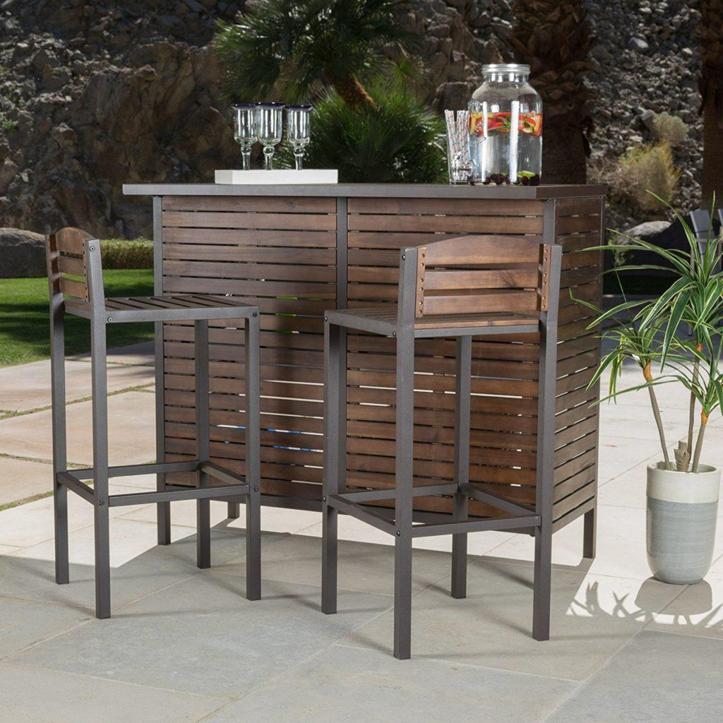 outdoor bar furniture outdoor bar LEASDFK