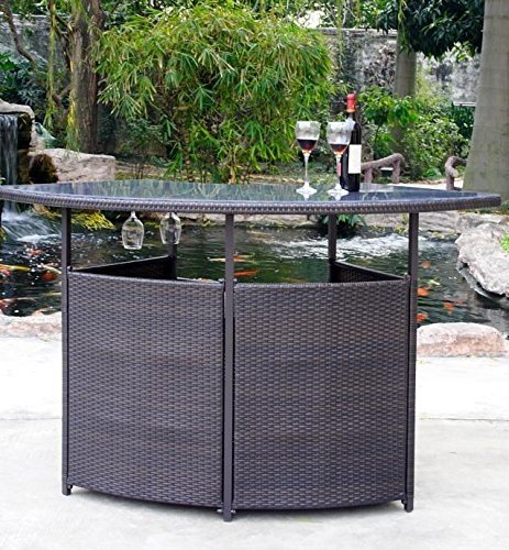 outdoor bar furniture premium outdoor wicker bar with