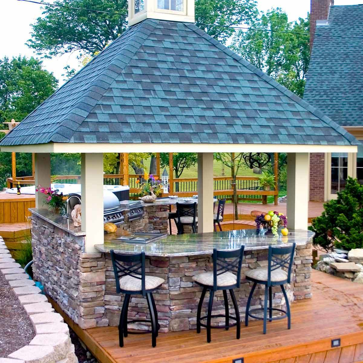 outdoor bar ideas combination outdoor kitchen and bar LLDESKT