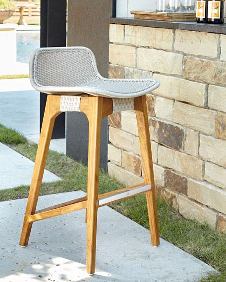 outdoor bar stools palecek vista outdoor barstool UQABXRQ