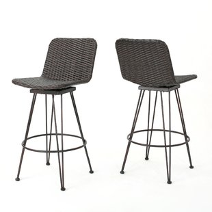 outdoor bar stools prevost outdoor wicker patio bar