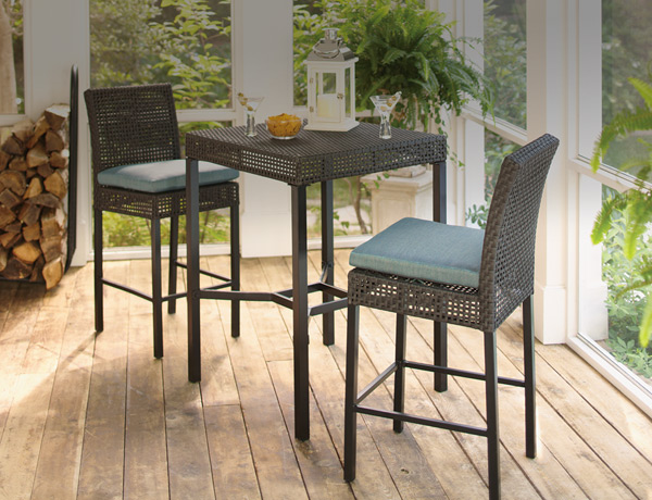 outdoor bar table bar height dining sets ZQRAUTX