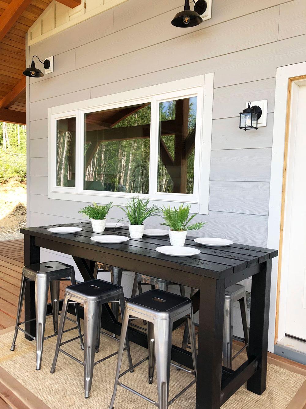 outdoor bar table BKWBHRS