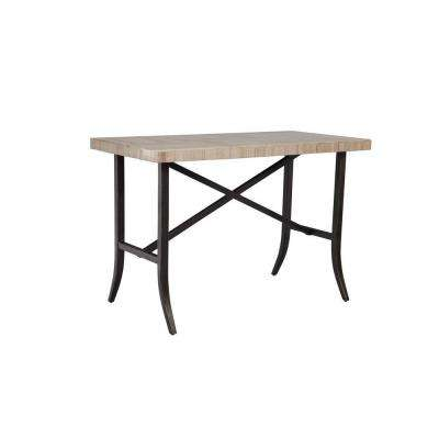 outdoor bar table greystone patio dining bar table -- stock ICBOABY