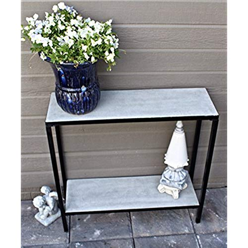 outdoor buffet table 2 tier concrete outdoor patio console buffet table HFCEATJ