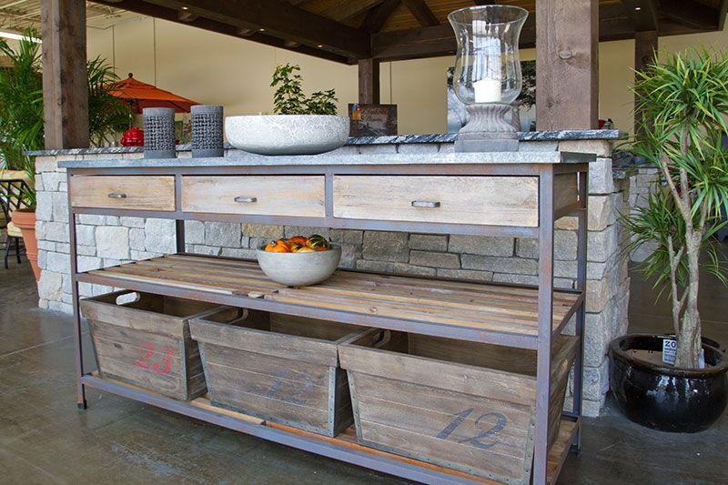 outdoor buffet table | outdoor buffet table and accessories LRIYGZL