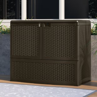 outdoor cabinets 195 gallon resin cabinet MEOBIUP