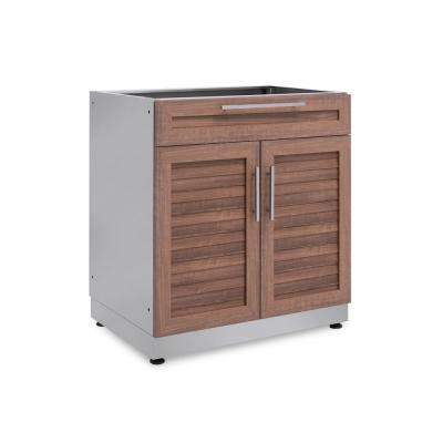 outdoor cabinets natural cherry 32 in. bar 32