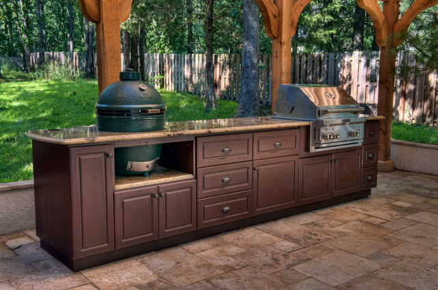 outdoor cabinets select outdoor kitchen custom cabinets traditional-patio