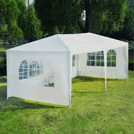 outdoor canopy tent zimtown 10u0027 x 20u0027outdoor canopy party wedding tent heavy duty cater events QKKCYZA