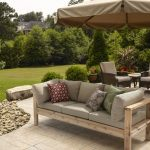 Go soft on a Seat by Using Outdoor Couches