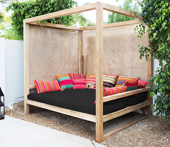 outdoor daybed with canopy diy outdoor daybed mais TIJELNP
