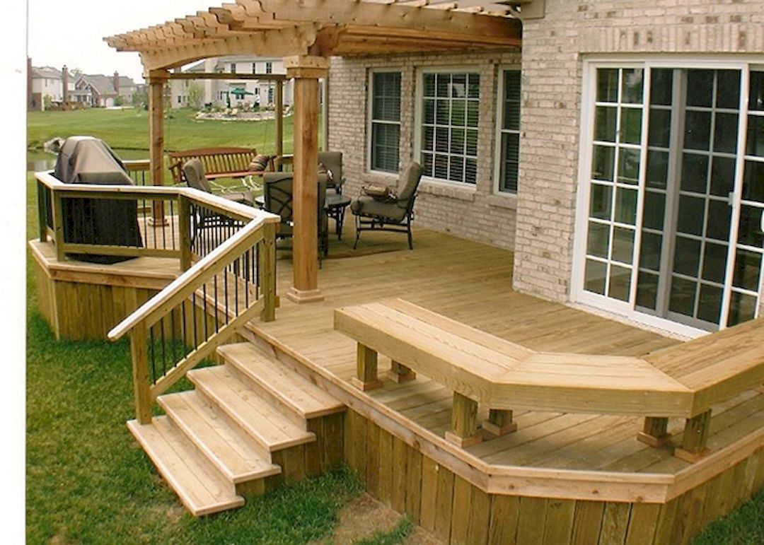 outdoor deck ideas - obtain suggestions for turning your deck right into UVBHTQT