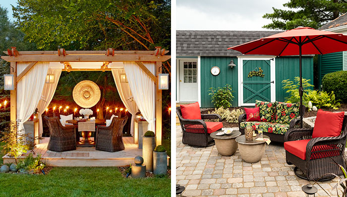 outdoor decorating ideas deck and patio decorating and outdoor decor VGLUGPT