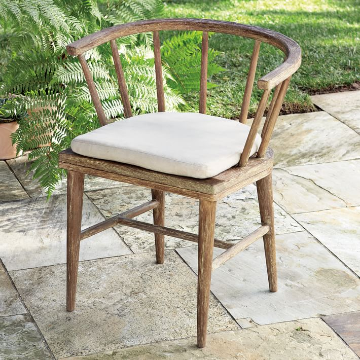 outdoor dining chairs dexter outdoor dining chair | west elm XUYKWCB