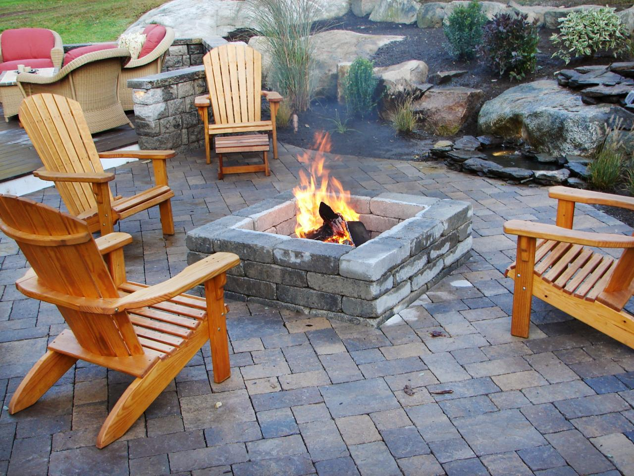 outdoor fireplace ideas featured in indoors out episode  NNGKOUT