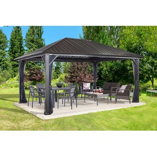 outdoor gazebo genova aluminum patio gazebo EPMCXOJ