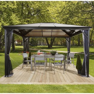 outdoor gazebo verona metal patio gazebo PXDPQRF