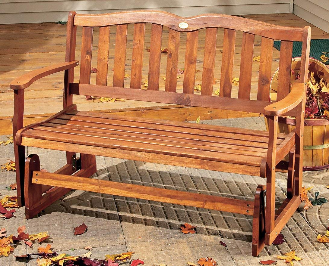 outdoor gliders amazon.com : jordan manufacturing double glider : outdoor benches : garden GBYNBIS