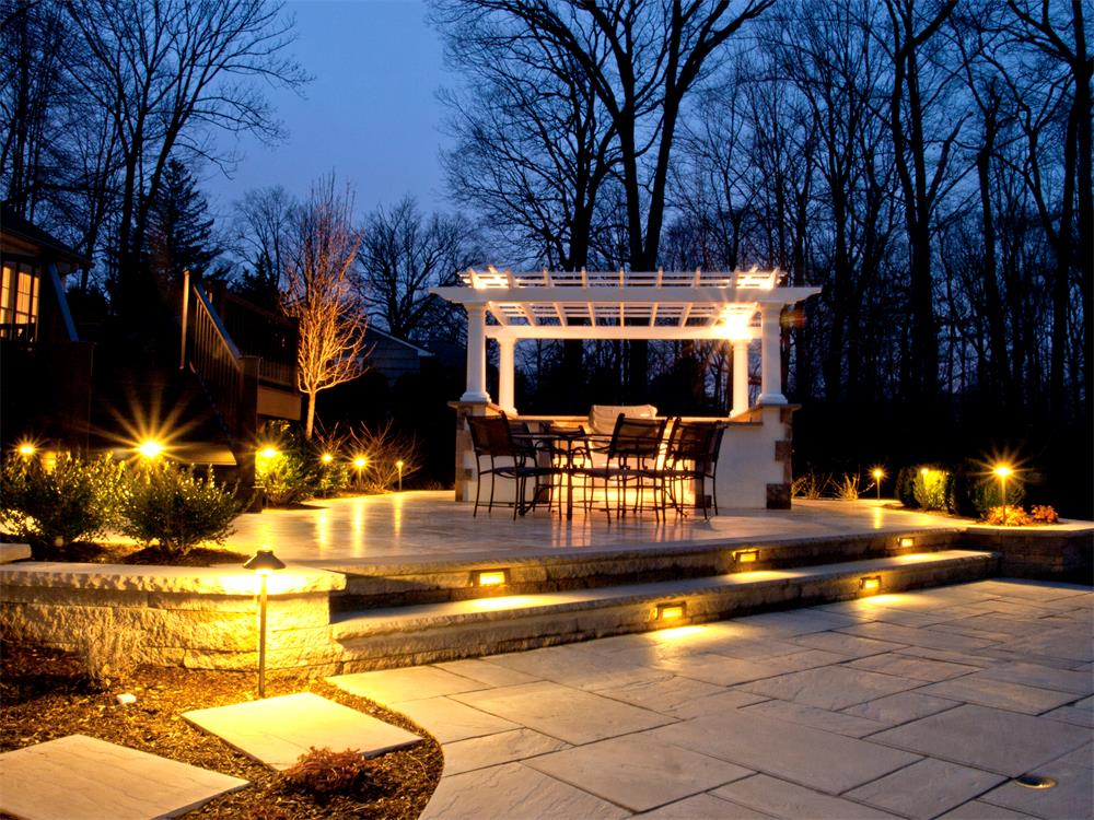 outdoor landscape lighting we create a stunning landscape that can be enjoyed during the day GCKXLFU