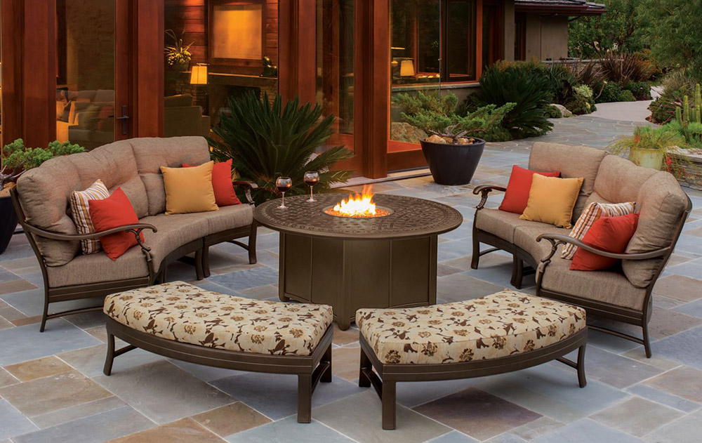 outdoor living furniture aluminum HQWVVUH