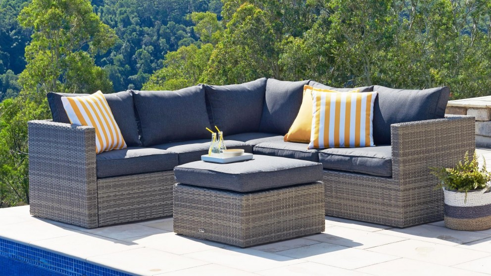 outdoor lounge aria 3 piece outdoor modular lounge setting PSYCHJP