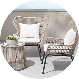 outdoor patio chairs conversation sets DAREDUA