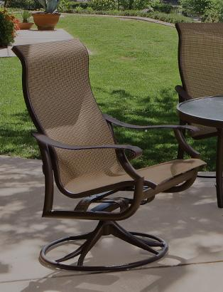 outdoor patio chairs swivel rockers VBCIXZU