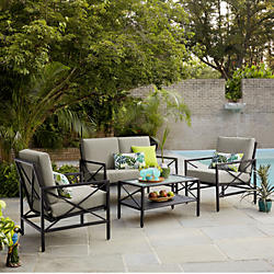 outdoor patio furniture sets casual seating sets HTETGAX