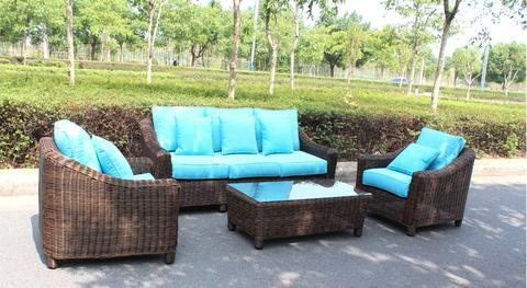 outdoor patio furniture sets catalina full round weave 4 piece wicker outdoor patio furniture set HTVZXCS