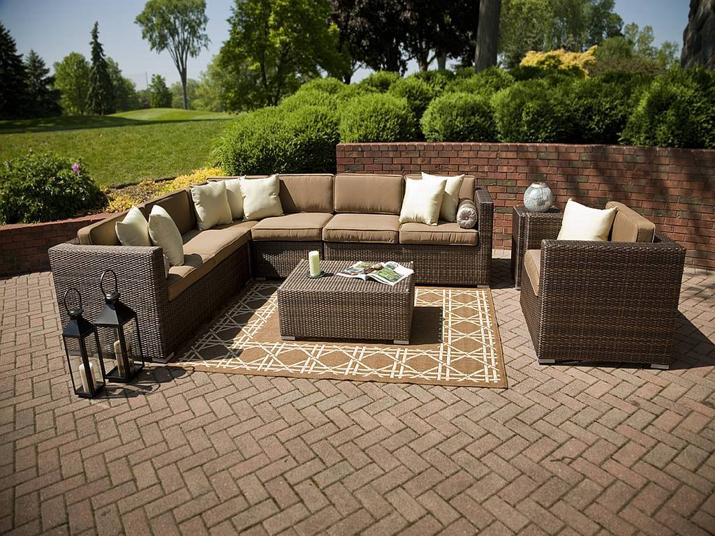 outdoor patio furniture sets palmetto resin wicker furniture set (click for larger view) ETIVHFN
