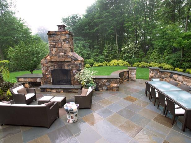outdoor patio neutral stone patio for outdoor entertaining WSRUKNC