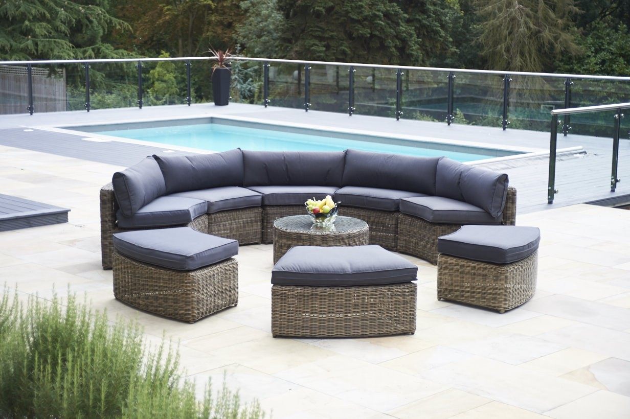 outdoor rattan furniture rattan outdoor lounge furniture rattan look garden furniture poly rattan  garden OBCENHI