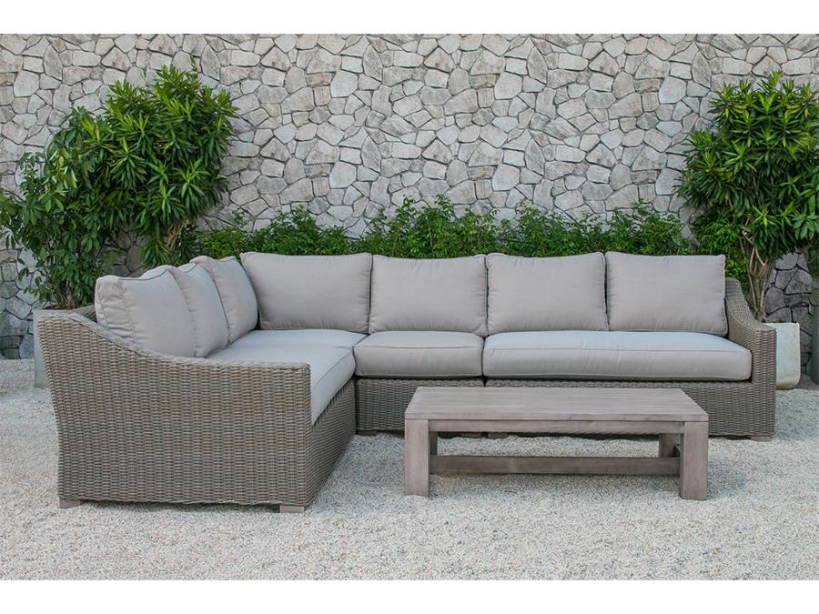 outdoor sectional sofa quinlan outdoor beige sectional sofa set MIJPKHD