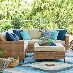 outdoor sectionals hillcrest patio sectional with cushions VHPCIUJ