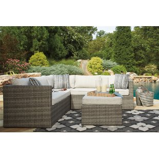 outdoor sectionals woodstock sectional with ottoman OWJFIOL