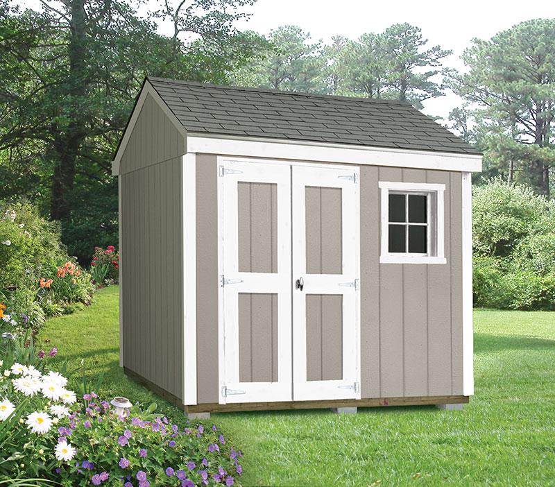 outdoor shed delivered. built. guaranteed. GDKYVIZ